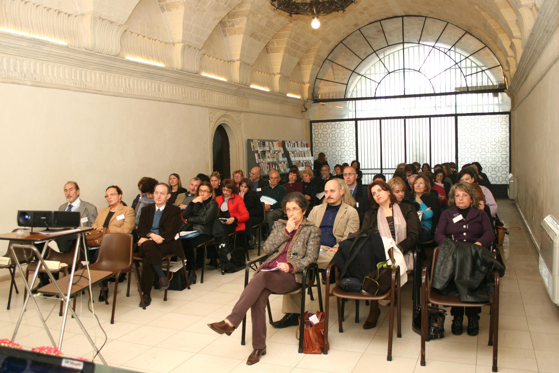 """I° Congresso Id-entità mediterranee: """"Psicoanalisi e luoghi della                                                                                                          memoria""""(Lecce, Biblioteca Caracciolo)"""