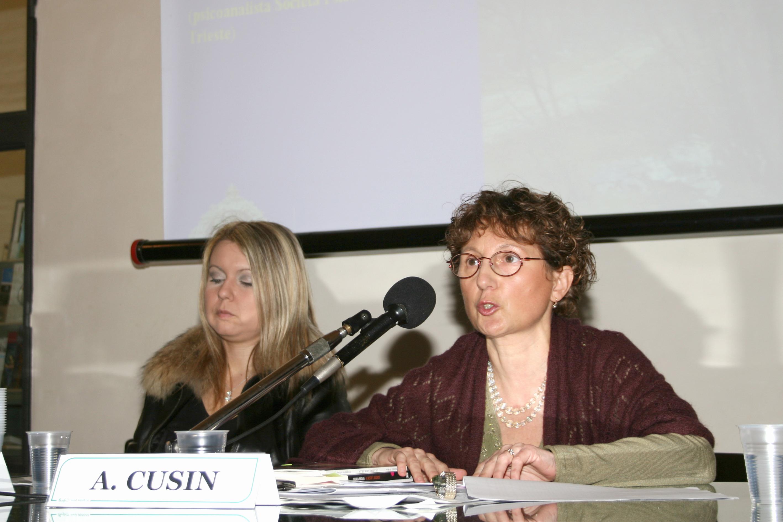 2008,                                                                                                         I° Congresso Id-entità mediterranee: A. Cusin, M. Avakian