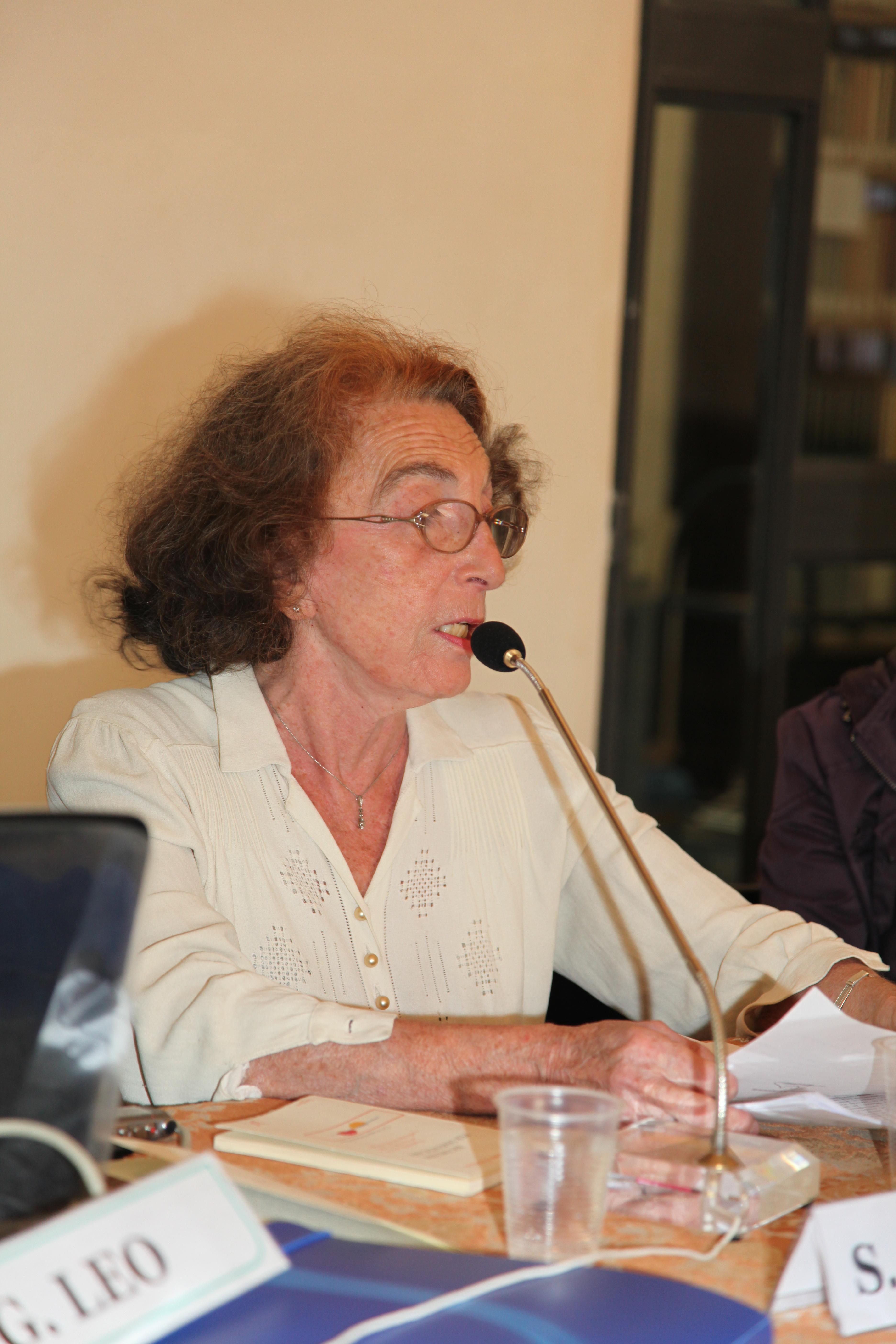 Convegno                                                                                                  2010 PSICOANALISI E LUOGHI DELLA NEGAZIONE: relazione di Janine Altounian                                                   (Parigi)